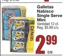 Galletas Nabisco Single Serve Mini