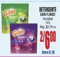 Detergente Gain Flings