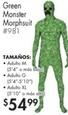 Green Monster Morphsuit