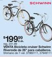 Bicicletas Cruiser Schwinn Riverside De 26'' Para Caballeros